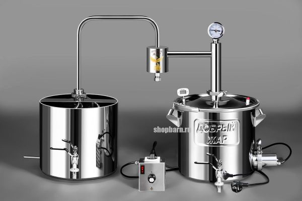 Дачный самогонный аппарат Добрый Жар 25 литров