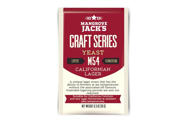 Дрожжи пивные Mangrove Jack's Californian Lager M54