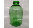 Банка стеклянная 15л с крышкой твист офф ТО110  (Зеленая)