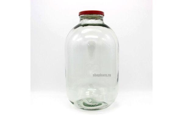 Банка 10 литров ТО 100 (Прозрачная)